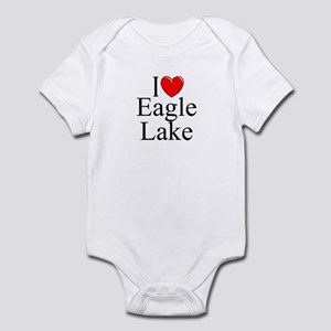 """I Love Eagle Lake"" Infant Bodysuit"