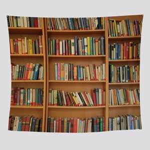 Bookshelf Books Library Bookworm Rea Wall Tapestry