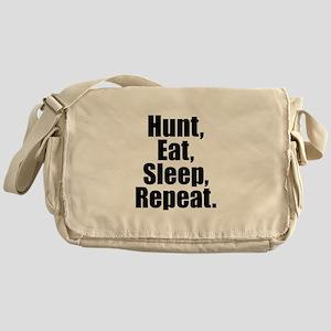 Hunt Eat Sleep Repeat Messenger Bag