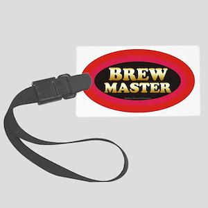 Brew Master Large Luggage Tag