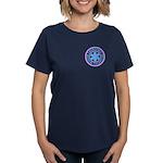 EMT Logo Pastel Women's Dark T-Shirt