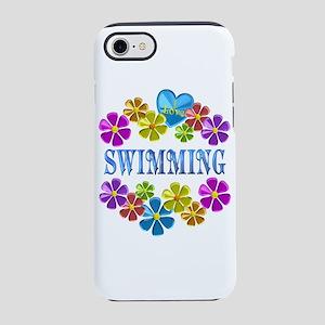 I Love Swimming iPhone 7 Tough Case