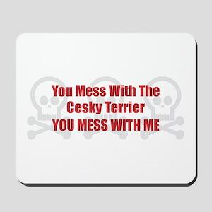 Mess With Cesky Mousepad