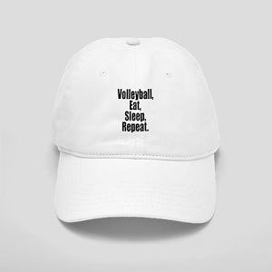 Volleyball Eat Sleep Repeat Baseball Cap
