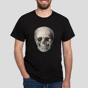 Vintage Human Skull T-Shirt