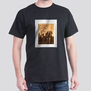 No Amnesty...for Paleface Loo Dark T-Shirt