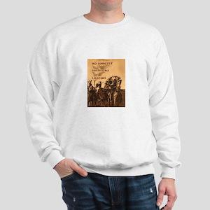 No Amnesty...for Paleface Loo Sweatshirt