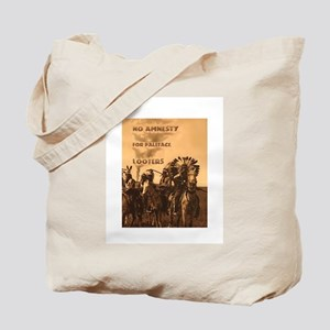 No Amnesty...for Paleface Loo Tote Bag