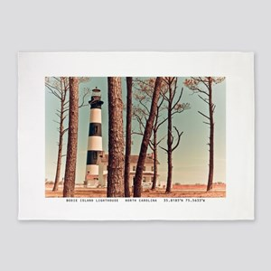 The Outer Banks. 5'x7'area Rug