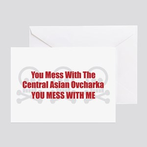 Mess With CAO Greeting Cards (Pk of 10)