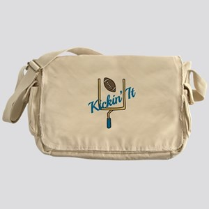Kickin It Messenger Bag