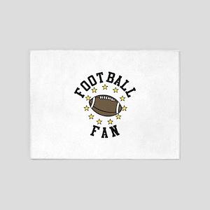 Football Fan 5'x7'Area Rug