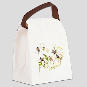 Goulds Sunbird Birds Canvas Lunch Bag