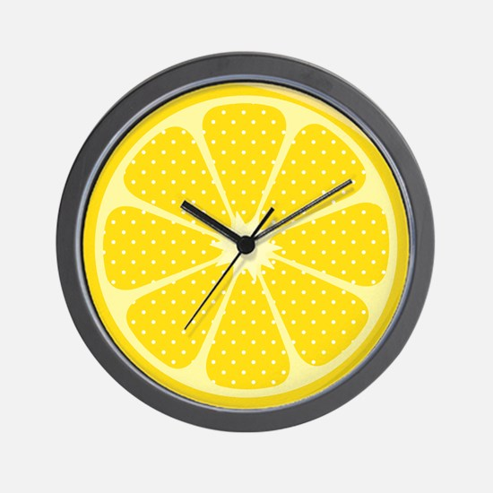 Unique Lemonade Wall Clock