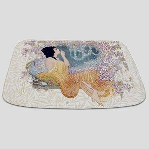 Art Deco Vanity Lady Bathmat