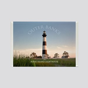 Bodie Island Lighthouse. Rectangle Magnet Magnets