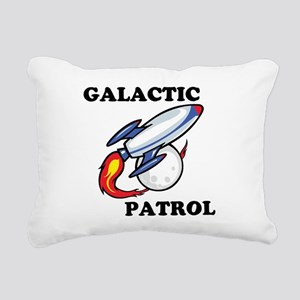 Galactic Patrol Rectangular Canvas Pillow
