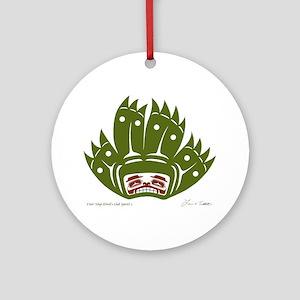S'axt' Yeigi (Devil's Club Spirit) Ornament (Round