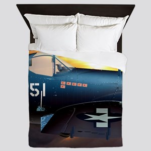 Black Sheep Squadron VMA-214 Queen Duvet