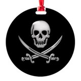 Pirates Round Ornament