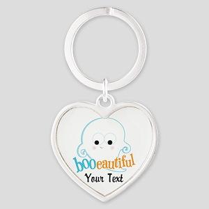 Custom Booeautiful Heart Keychain