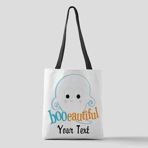 Custom Booeautiful Polyester Tote Bag