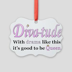 Diva-Tude Ornament