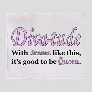 Diva-Tude Throw Blanket