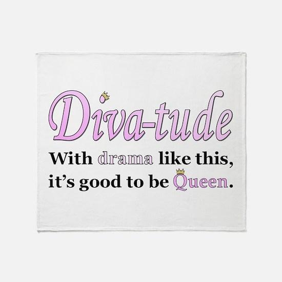 Diva-Tude Throw Blanket