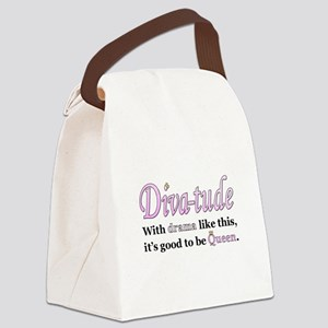 Diva-Tude Canvas Lunch Bag