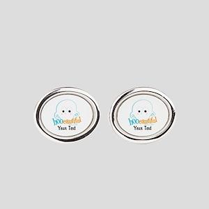 Custom Booeautiful Oval Cufflinks