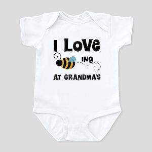 Beeing At Grandma's Infant Bodysuit