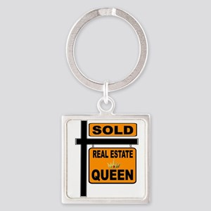 REAL ESTATE QUEEN Keychains