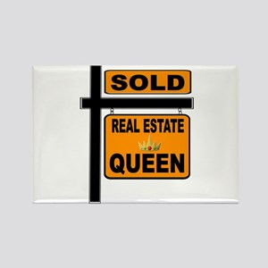 REAL ESTATE QUEEN Magnets