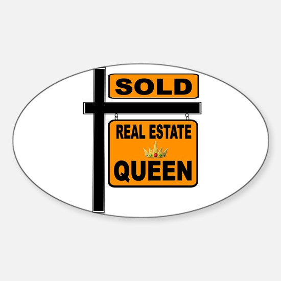 REAL ESTATE QUEEN Decal