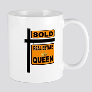 REAL ESTATE QUEEN Mugs