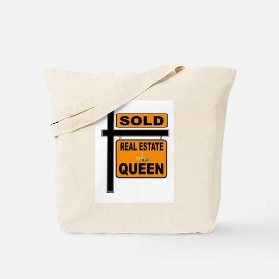 REAL ESTATE QUEEN Tote Bag