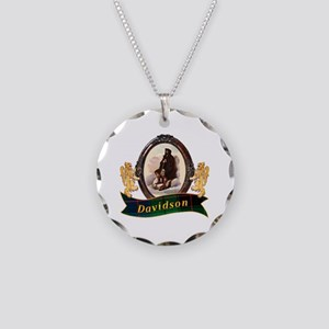 Davidson Clan Necklace Circle Charm