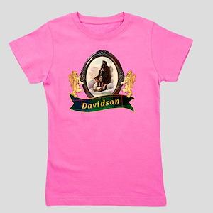 Davidson Clan Girl's Tee