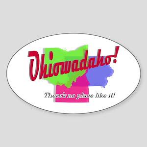 Ohiowadaho Sticker (Oval)