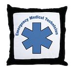 EMT Emergency Throw Pillow