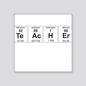 Teacher periodic elements Sticker