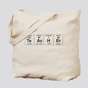 Teacher periodic elements Tote Bag