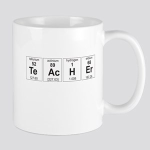 Teacher periodic elements Mugs