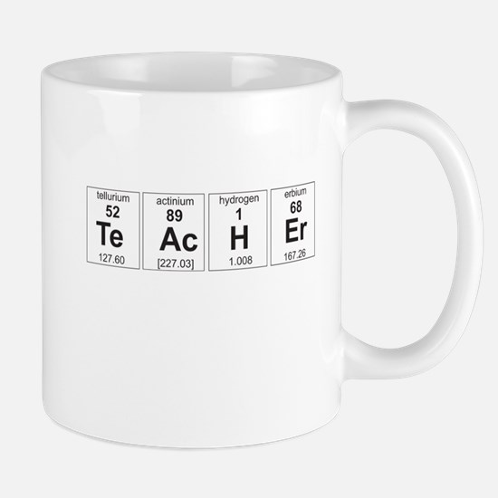 Teacher periodic elements Mugs