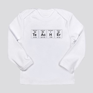Teacher periodic elements Long Sleeve T-Shirt