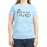 Multiple sclerosis Women's Light T-Shirt