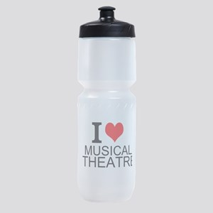 I Love Musical Theatre Sports Bottle