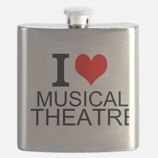 I Love Musical Theatre Flask