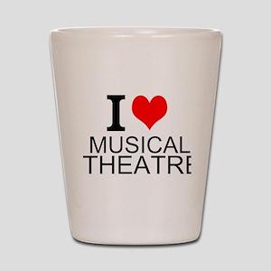 I Love Musical Theatre Shot Glass